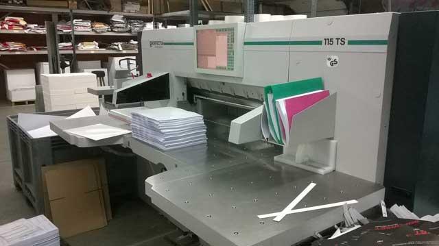 Perfecta 115TS б/у 2012г - бумагорезальная машина