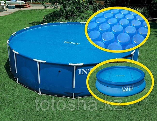 29022 Intex Теплосберегающее покрытие тент для бассейна 366 см