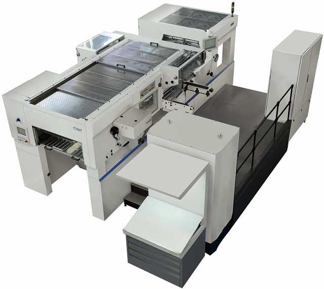Guowang Progressor C-106Y - машина для высечки и тиснения фольгой
