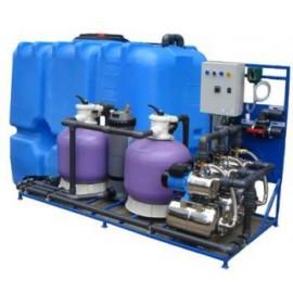 Система очистки воды арос 10 для автомойки. Очистное сооружение для автомойки.