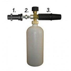 Пенная насадка с пластиковым адаптером для автомойки «karcher»