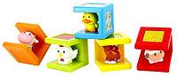 Игрушка 1TOY Kidz Delight Животные набор из 5 кубиков , фото 1