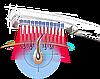 Hairmax лазерная расческа с девятью излучателями, фото 3
