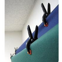 Зажимы - прищепки для крепления студийного фона, 4 штуки, фото 3