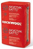 Звукоизоляционные плиты Rockwool Акустик Баттс 50 мм