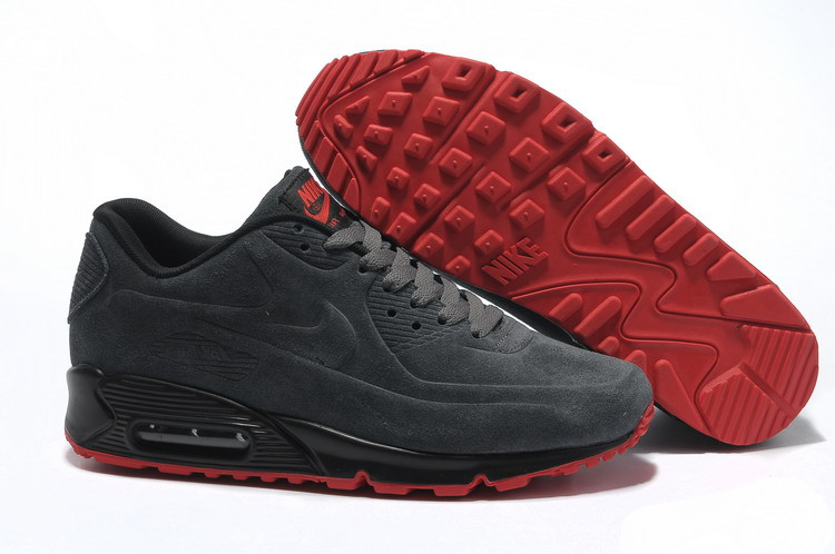 Кроссовки Nike Air Max 90 VT Dark gray Red (36-46)