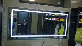 Зеркало с подсветкой для ванной комнаты (7 ноября 2015) 1