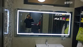 Зеркало с подсветкой для ванной комнаты (7 ноября 2015) 2