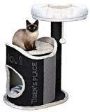 """Trixie 44415 Когтеточка домик для кошки """"Сюзана"""", высота 30см, черно-белый, фото 1"""