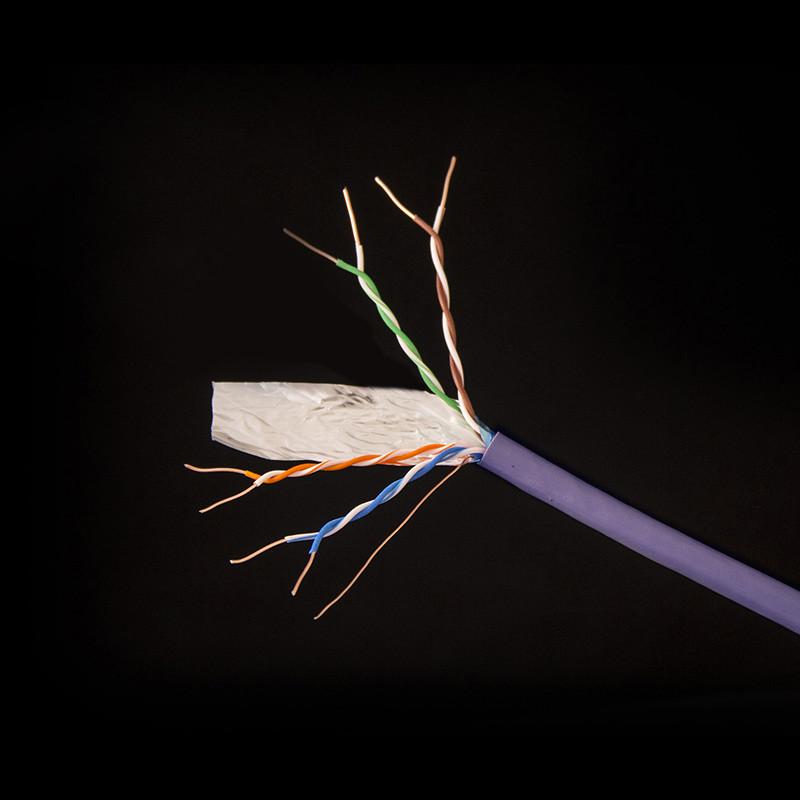 RIPO кабель сетевой, FCH-6574, FTP Cat.6 4x2x1/0,57 LSZH негорючий
