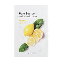 Pure Source Тканевая маска с экстрактом лимона