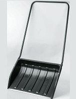 Скрепер (движок) для снега Барин с планкой 700х530 мм