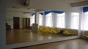 Зеркало для танцевального зала в детском саду (10 ноября 2015) 1
