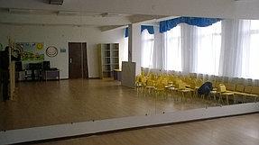 Зеркало для танцевального зала в детском саду (10 ноября 2015) 2