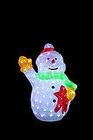 """Фигура световая """"Снеговик"""" 55*32 см, фото 1"""