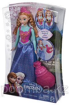 Disney Princess Кукла Анна Холодное сердце в платье, меняющем цвет
