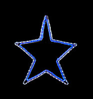 """Фигура световая """"Звезда"""" (высота 60 см)"""