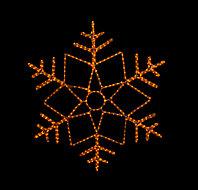 """Фигура световая """"Снежинка"""" (высота 120 см), фото 1"""