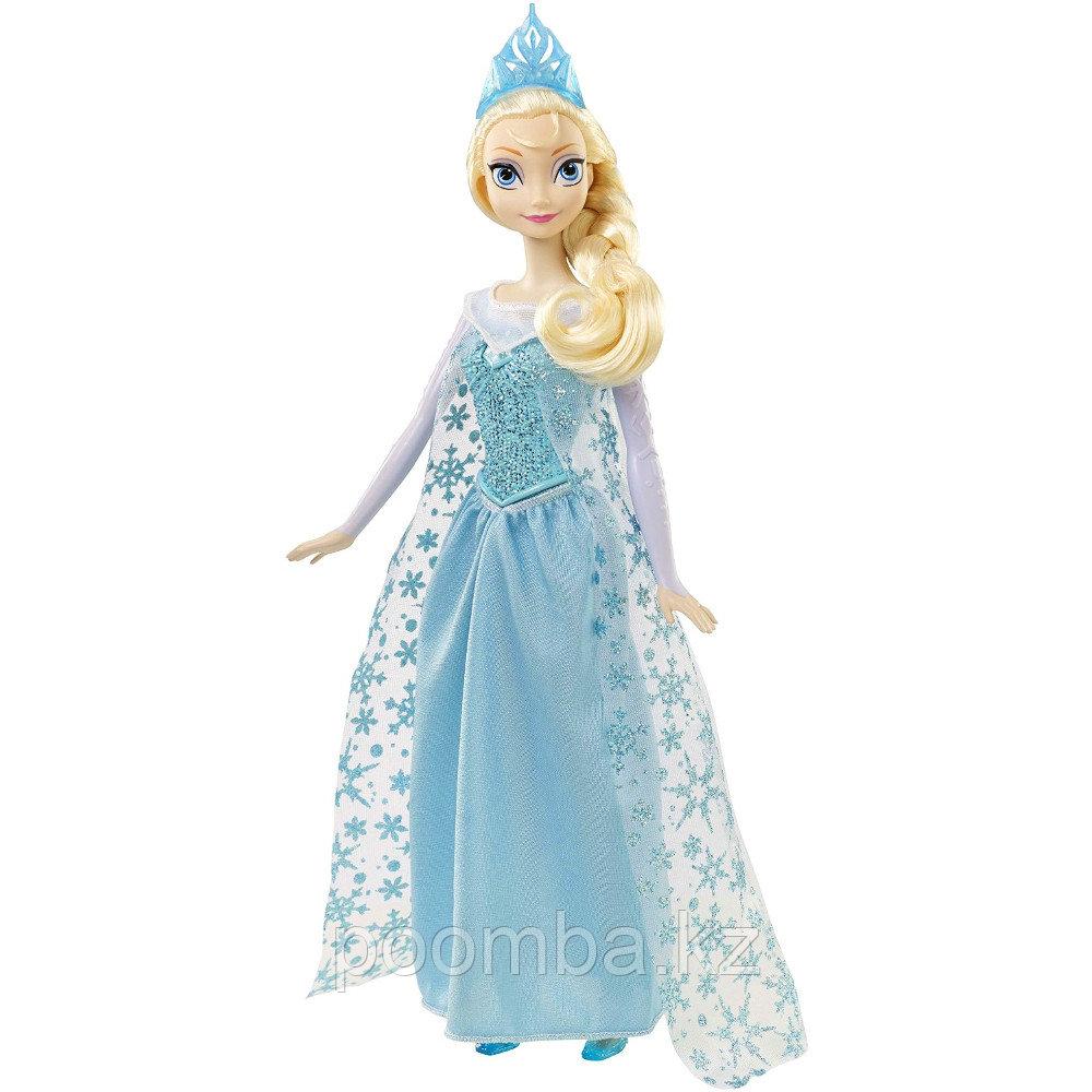Disney Princess Кукла Эльза Холодное сердце поет на русском