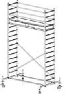 Передвижные подмости Stabilo, рабочая высота 5.4м