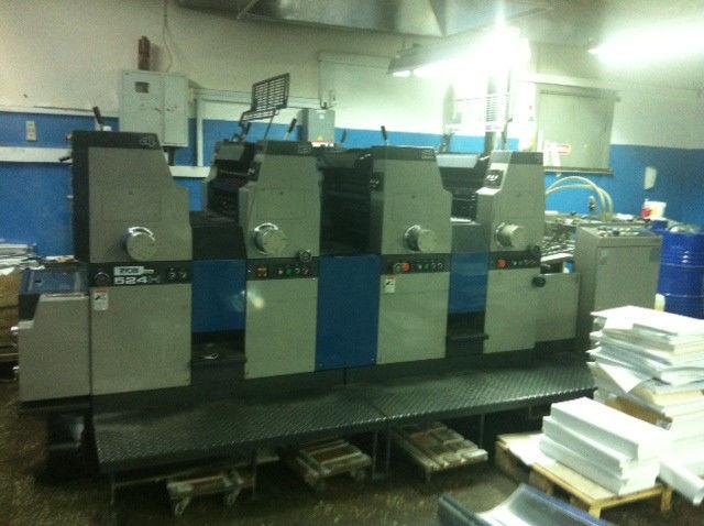 RYOBI 524H by 1995 - 4-х красочная офсетная печатная машина