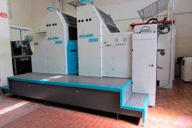 Печатная машина Roland 202E б/у 2001г