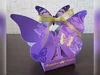Бонбоньерка бабочка, фото 1