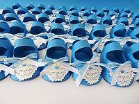Бонбоньерки пинетки на годик ребенку, фото 1