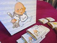 Детский шоколад с этикеткой, маленький, фото 1