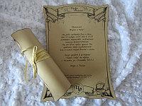 Пригласительные свитки на свадьбу и Кыз узату, фото 1