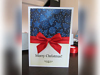 Стильная открытка на Новый год, фото 1