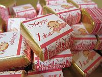 Шоколад с этикеткой, маленький, фото 1
