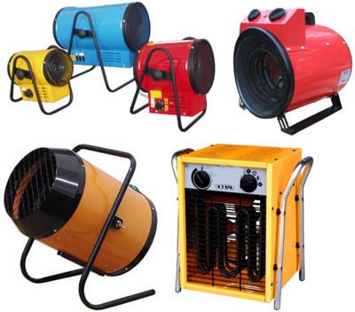 Электрические напольные тепловые пушки