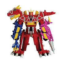 "Игрушка ""Могучие рейнджеры"" Zord Builder - Дино Мегазорд DX, фото 1"