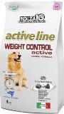 Forza10 Weight Control Active сухой корм для собак, с нарушениями обмена жиров и углеводов., 4кг