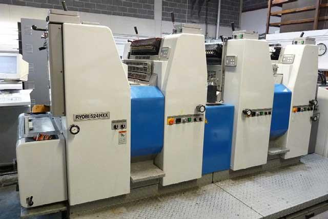 524 HXX б.у 2001 - печатное оборудование Ryobi