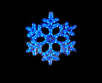 """Фигура световая """"Снежинка"""" (высота 40 см), фото 1"""