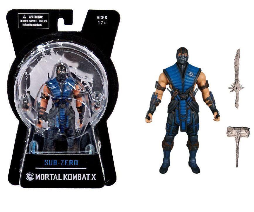 Mortal Kombat X - Саб-Зи́ро (с оружием)