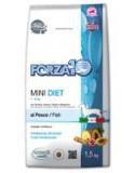 Forza10 Mini Diet из рыбы гипоаллергенный корм для взрослых собак мелких пород из океанической рыбы, 1,5кг
