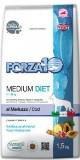 Forza10 Medium Diet оленина и картофель гипоаллергенный корм для взрослых собак средних пород, 1,5кг