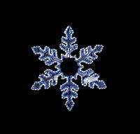 """Фигура световая """"Снежинка"""" (высота 94 см)"""