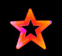 """Фигура световая """"Звезда"""" (высота 57 см, 2 цвета), фото 1"""
