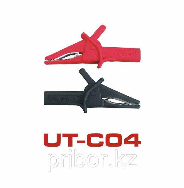 UT-C04 Зажимы крокодил (пара) 82мм  UNI-T