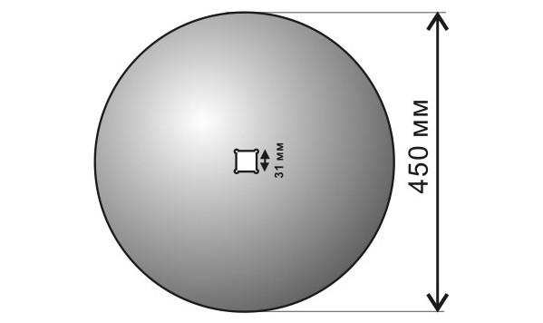 Диск ЛДГ (лущильник) С-1-1-450-4-29