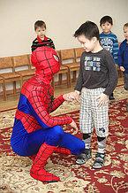 Человек-паук на детский день рождения!