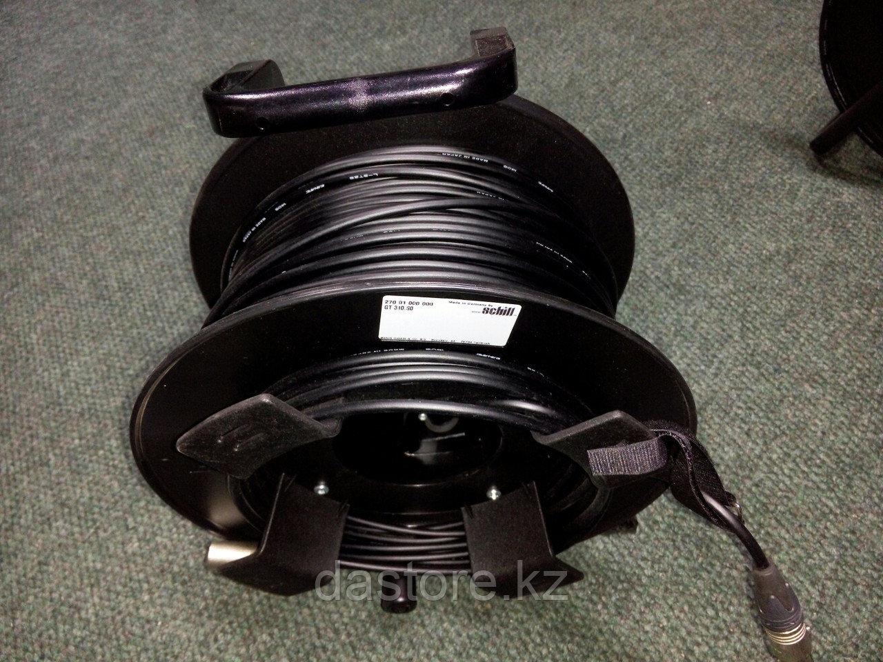 DaStore Products AIXD-100-P, готовый звуковой микрофонный кабель на катушке с разъёмами XLR 3 Pin (мама-папа),