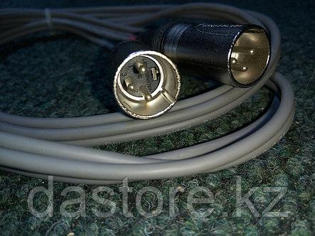 DaStore Products AIJSXM20 2-L. Готовый сдвоенный аудио микрофонный кабель с XLR 3 PIN папа (canon) и Stereo 1/4 Jack (TRS) разъёмами, длина 2 метра, фото 2