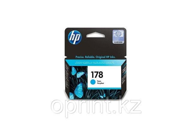 Картридж HP 178 Голубой