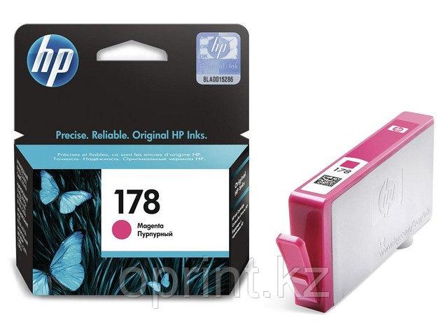 Картридж HP 178 пурпурный