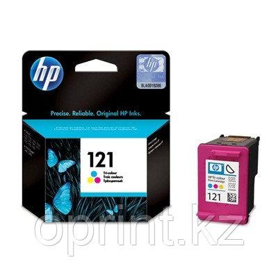 Картридж HP 121 трехцветный